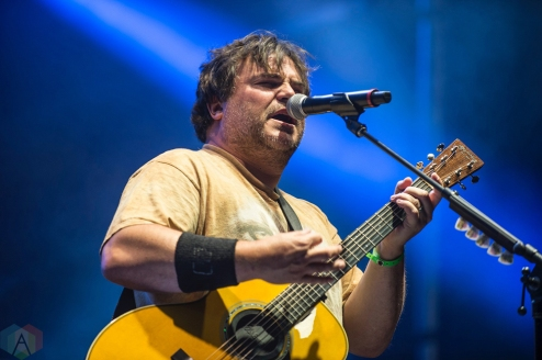 MONTEBELLO, QC - JUNE 16: Tenacious D performs at Montebello Rockfest in Montebello, Quebec on June 16, 2018. (Photo: Greg Matthews/Aesthetic Magazine)