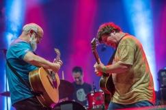 MONTEBELLO, QC - JUNE 16: Tenacious D performs at Montebello Rockfest in Montebello, Quebec on June 16, 2018. (Photo: Greg Matthews/Aesthetic Magazine)