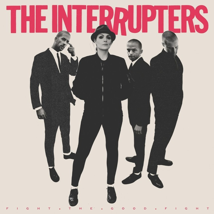 The Interrupters will release their new album, Fight the Good Fight, on June 29th via Hellcat Records.