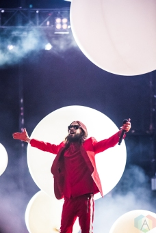 TORONTO, ON - JUNE 06: Thirty Seconds To Mars performs at Budweiser Stage in Toronto on June 06, 2018. (Photo: Janine Van Oostrom/Aesthetic Magazine)