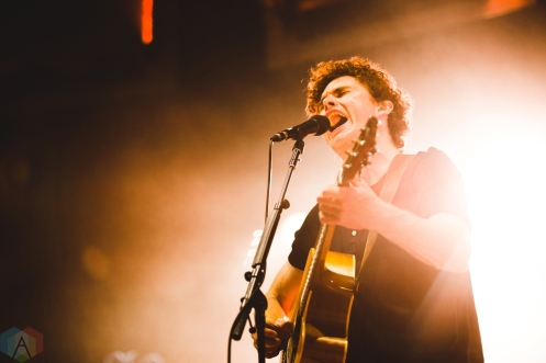 TORONTO, ON - JUNE 22: Vance Joy performs at Budweiser Stage in Toronto on June 22, 2018. (Photo: Brandon Newfield/Aesthetic Magazine)