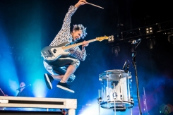 TORONTO, ON - JUNE 06: Walk The Moon performs at Budweiser Stage in Toronto on June 06, 2018. (Photo: Janine Van Oostrom/Aesthetic Magazine)