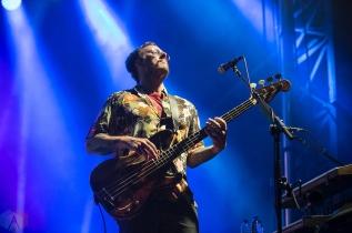MONTEBELLO, QC - JUNE 16: Weezer performs at Montebello Rockfest in Montebello, Quebec on June 16, 2018. (Photo: Greg Matthews/Aesthetic Magazine)