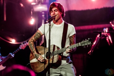TORONTO, ON - JULY 06: Anthony Green performs at Mod Club in Toronto on July 06, 2018. (Photo: Joanna Glezakos/Aesthetic Magazine)