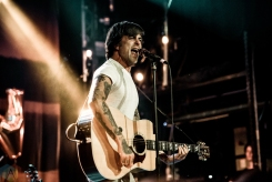 TORONTO, ON - JULY 06: Anthony Green performs at Mod Club in Toronto on July 06, 2018. (Photo: Joanna Glezakos/Aesthetic Magazine)