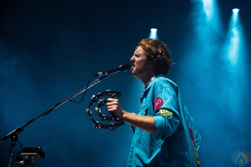 TORONTO, ON - JULY 22, 2018: Arcade Fire performs at Budweiser Stage in Toronto on July 22, 2018. (Photo: Morgan Hotston/Aesthetic Magazine)