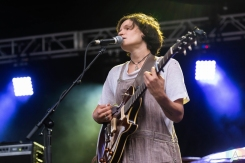 CHICAGO, IL - JULY 20: Big Thief performs at Pitchfork Music Festival in Chicago on July 20, 2018. (Photo: Katie Kuropas/Aesthetic Magazine)
