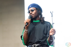 CHICAGO, IL - JULY 21: Blood Orange performs at Pitchfork Music Festival in Chicago on July 21, 2018. (Photo: Katie Kuropas/Aesthetic Magazine)