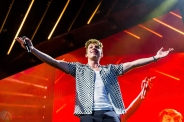 TORONTO, ON - JULY 11: Charlie Puth performs at Budweiser Stage in Toronto on July 11, 2018. (Photo: Brandon Newfield/Aesthetic Magazine)