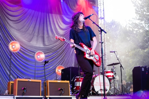 CHICAGO, IL - JULY 20: Courtney Barnett performs at Pitchfork Music Festival in Chicago on July 20, 2018. (Photo: Katie Kuropas/Aesthetic Magazine)