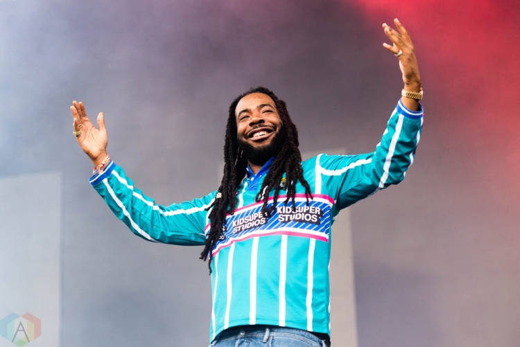 CHICAGO, IL - JULY 22: DRAM performs at Pitchfork Music Festival in Chicago on July 22, 2018. (Photo: Katie Kuropas/Aesthetic Magazine)