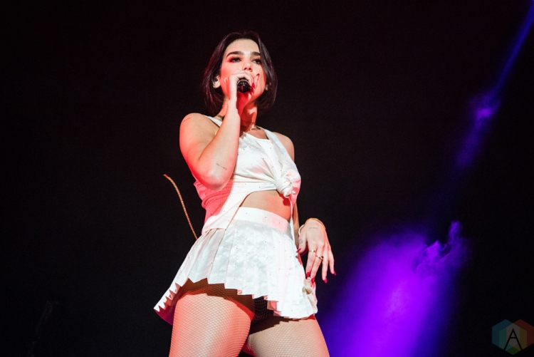 TORONTO, ON - JULY 30: Dua Lipa performs at Echo Beach in Toronto on July 30, 2018. (Photo: Morgan Hotston/Aesthetic Magazine)