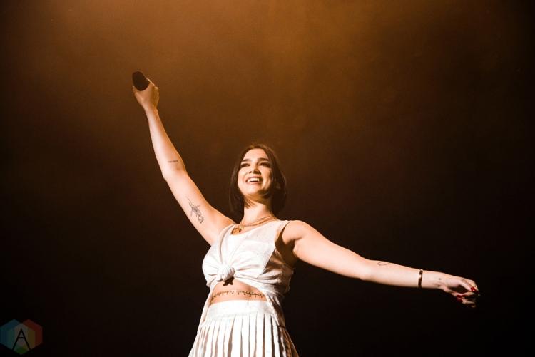 TORONTO, ON - JULY 30: Dua Lipa performs at Echo Beach in Toronto on July 30, 2018. (Photo: Morgan Hotston/Aesthetic Magazine)