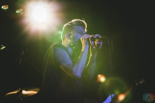 SEATTLE, WA - JULY 15: Glassjaw performs at The Showbox in Seattle on July 15, 2018. (Photo: Dan Hager/Aesthetic Magazine)