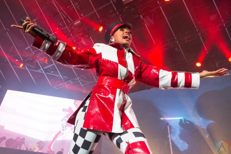 TORONTO, ON - JULY 16: Janelle Monae performs at Rebel in Toronto on July 16, 2018. (Photo: Katrina Lat/Aesthetic Magazine)