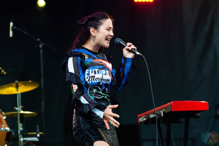 CHICAGO, IL - JULY 22: Japanese Breakfast performs at Pitchfork Music Festival in Chicago on July 22, 2018. (Photo: Katie Kuropas/Aesthetic Magazine)