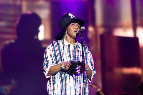 CHICAGO, IL - JULY 22: Lauryn Hill performs at Pitchfork Music Festival in Chicago on July 22, 2018. (Photo: Katie Kuropas/Aesthetic Magazine)