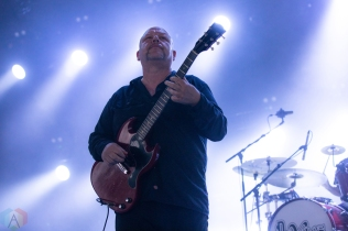 TORONTO, ON - JULY 14: Pixies performs at Budweiser Stage in Toronto on July 14, 2018. (Photo: Brendan Albert/Aesthetic Magazine)