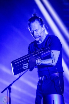 TORONTO, ON - JULY 19: Radiohead performs at Scotiabank Arena in Toronto on July 19, 2018. (Photo: David McDonald/Aesthetic Magazine)