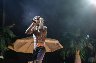 TORONTO, ON - JULY 24: Rae Sremmurd performs at Budweiser Stage in Toronto on July 24, 2018. (Photo: Anton Mak/Aesthetic Magazine)