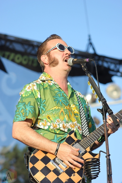 TORONTO, ON - JULY 17: Reel Big Fish performs at Warped Tour at Echo Beach in Toronto on July 17, 2018. (Photo: Curtis Sindrey/Aesthetic Magazine)