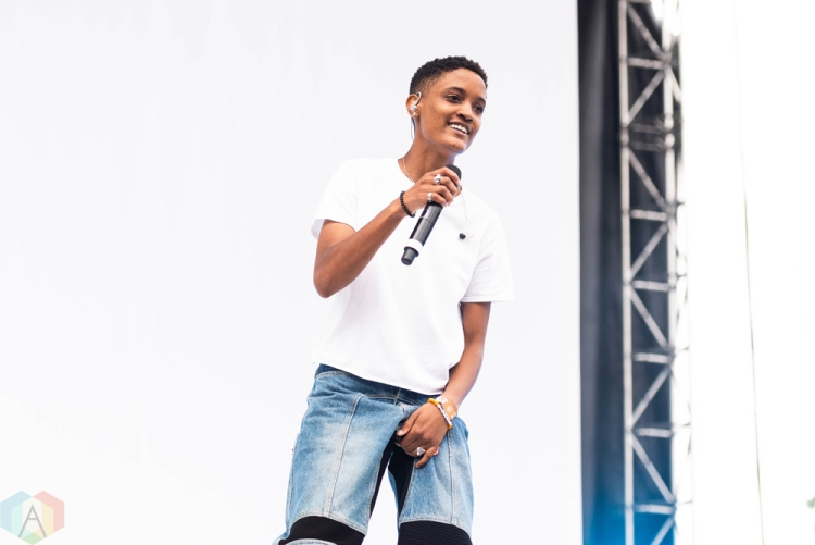 CHICAGO, IL - JULY 20: Syd performs at Pitchfork Music Festival in Chicago on July 20, 2018. (Photo: Katie Kuropas/Aesthetic Magazine)