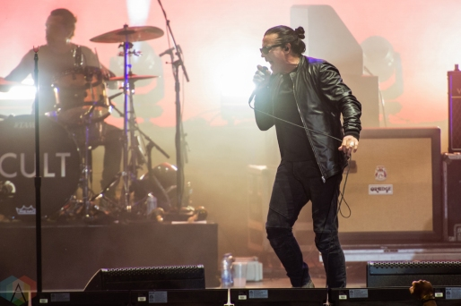 TORONTO, ON - JULY 25: The Cult performs at Budweiser Stage in Toronto on July 25, 2018. (Photo: Tyler Roberts/Aesthetic Magazine)