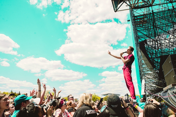 TORONTO, ON – JULY 17: The Maine performs at Warped Tour at Echo