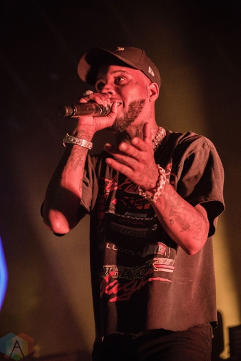 TORONTO, ON - JULY 04: Tory Lanez performs at Rebel in Toronto on July 04, 2018. (Photo: Anton Mak/Aesthetic Magazine)