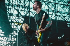 TORONTO, ON - JULY 17: Underoath performs at Warped Tour at Echo Beach in Toronto on July 17, 2018. (Photo: Joanna Glezakos/Aesthetic Magazine)