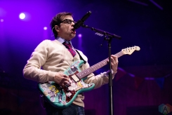 TORONTO, ON - JULY 14: Weezer performs at Budweiser Stage in Toronto on July 14, 2018. (Photo: Brendan Albert/Aesthetic Magazine)