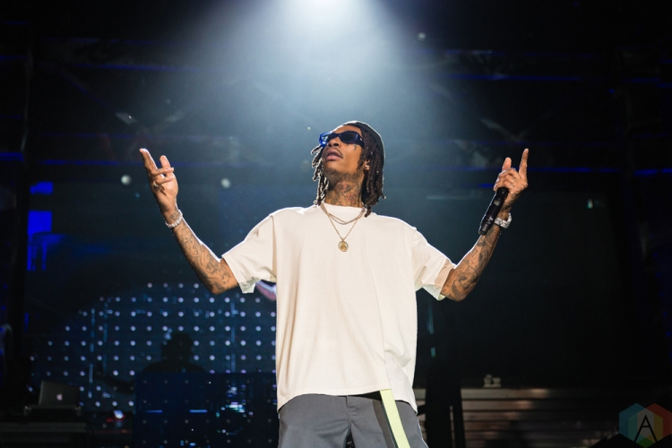 TORONTO, ON - JULY 24: Wiz Khalifa performs at Budweiser Stage in Toronto on July 24, 2018. (Photo: Anton Mak/Aesthetic Magazine)