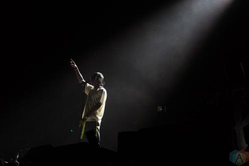 TORONTO, ON - JULY 24: Wiz Khalifa performs at Budweiser Stage in Toronto on July 24, 2018. (Photo: Anton Mak/Aesthetic Magazine)