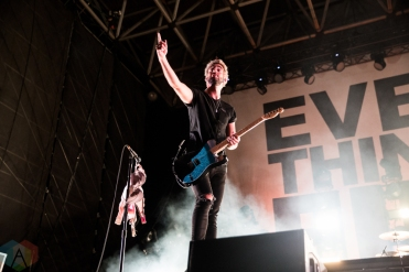 TORONTO, ON - AUGUST 14: All Time Low performs at Echo Beach in Toronto on August 14, 2018. (Photo: Brandon Newfield/Aesthetic Magazine)