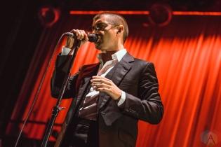 TORONTO, ON - AUGUST 05: Arctic Monkeys perform at Scotiabank Arena in Toronto on August 05, 2018. (Photo: Janine Van Oostrom/Aesthetic Magazine)