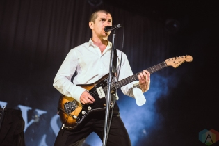 TORONTO, ON - AUGUST 05: Arctic Monkeys perform at Scotiabank Arena in Toronto on August 05, 2018. (Photo: Janine Van Oostrom/Aesthetic Magazine)
