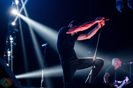 TORONTO, ON - AUGUST 20: Breaking Benjamin performs at Budweiser Stage in Toronto on August 20, 2018. (Photo: Katrina Lat/Aesthetic Magazine)