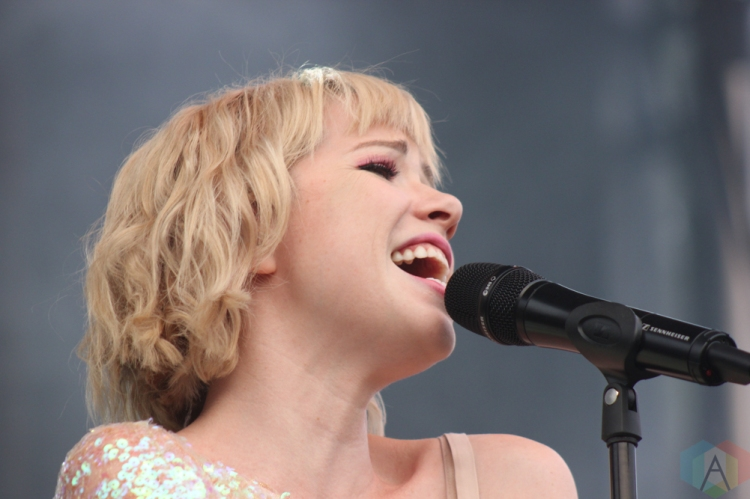 ELORA, ON - AUGUST 18: Carly Rae Jepsen performs at Riverfest Elora in Elora, Ontario on August 18, 2018. (Photo: Curtis Sindrey/Aesthetic Magazine)