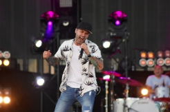 ORO-MEDONTE, ON - AUGUST 10: Dallas Smith performs at Boots And Hearts Music Festival at Burl's Creek in Oro-Medonte, ON on August 10, 2018. (Photo: Curtis Sindrey/Aesthetic Magazine)