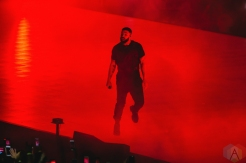 TORONTO, ON - AUGUST 21: Drake performs at Scotiabank Arena in Toronto on August 21, 2018. (Photo: Stephan Ordonez/Aesthetic Magazine)