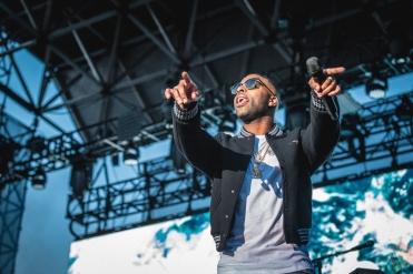 TORONTO, ON - AUGUST 26: DVSN performs at Echo Beach in Toronto on August 26, 2018. (Photo: Anton Mak/Aesthetic Magazine)