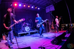 ELORA, ON - AUGUST 19: The Flatliners perform at Riverfest Elora in Elora, Ontario on August 19, 2018. (Photo: Morgan Harris/Aesthetic Magazine)