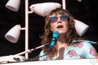 TORONTO, ON - AUGUST 04: Jenny Lewis performs at Fort York in Toronto on August 04, 2018. (Photo: Brendan Albert/Aesthetic Magazine)