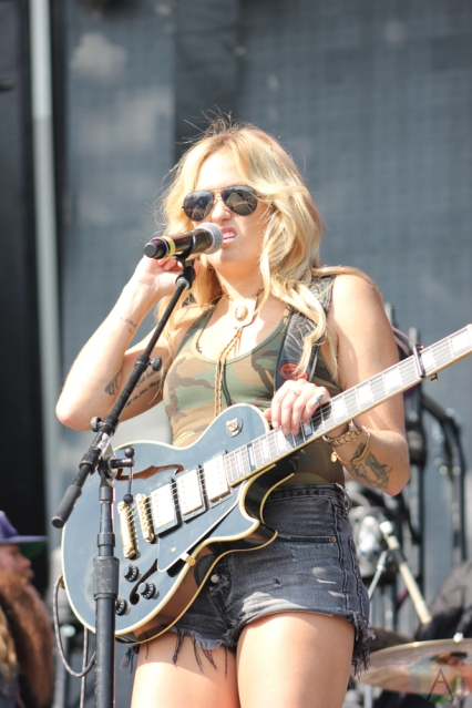 ORO-MEDONTE, ON - AUGUST 11: Meghan Patrick performs at Boots And Hearts Music Festival at Burl's Creek in Oro-Medonte, ON on August 11, 2018. (Photo: Curtis Sindrey/Aesthetic Magazine)