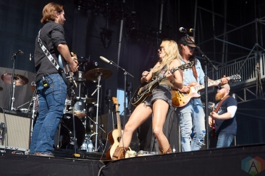ORO-MEDONTE, ON - AUGUST 11: Meghan Patrick performs at Boots And Hearts Music Festival at Burl's Creek in Oro-Medonte, ON on August 11, 2018. (Photo: Morgan Harris/Aesthetic Magazine)