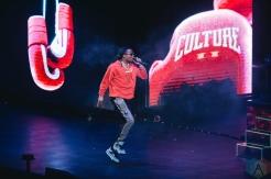 TORONTO, ON - AUGUST 21: Migos performs at Scotiabank Arena in Toronto on August 21, 2018. (Photo: Stephan Ordonez/Aesthetic Magazine)