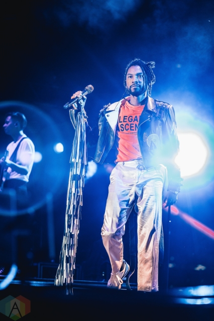 TORONTO, ON - AUGUST 26: MIguel performs at Echo Beach in Toronto on August 26, 2018. (Photo: Anton Mak/Aesthetic Magazine)
