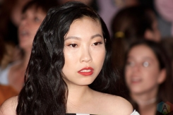 TORONTO, ON - AUGUST 26: Awkwafina attends iHeartRadio MMVAS red carpet in Toronto, Ontario on August 26, 2018. (Photo: Curtis Sindrey/Aesthetic Magazine)