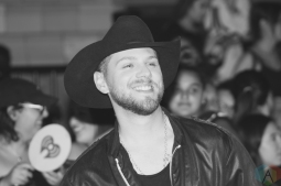 TORONTO, ON - AUGUST 26: Brett Kissel attends iHeartRadio MMVAs red carpet in Toronto, Ontario on August 26, 2018. (Photo: Curtis Sindrey/Aesthetic Magazine)