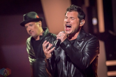 TORONTO, ON - AUGUST 26: 98 Degrees performs at iHeartRadio MMVAs in Toronto, Ontario on August 26, 2018. (Photo: Angelo Marchini/Aesthetic Magazine)